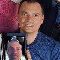 Andreas Balsliemke Portrait im iPad